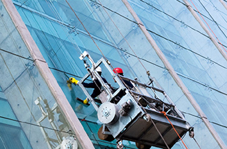 BMU-window-cleaning